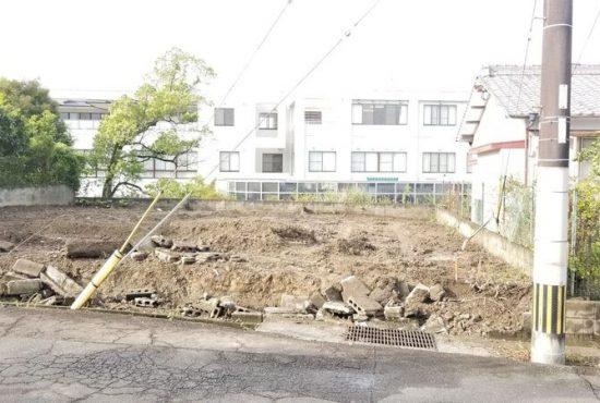 人気の平和が丘の新築用地です!